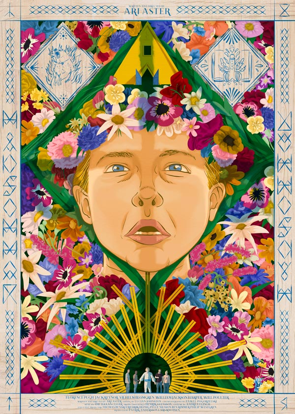 Affiche alternative du film MidSommar de Ari Aster