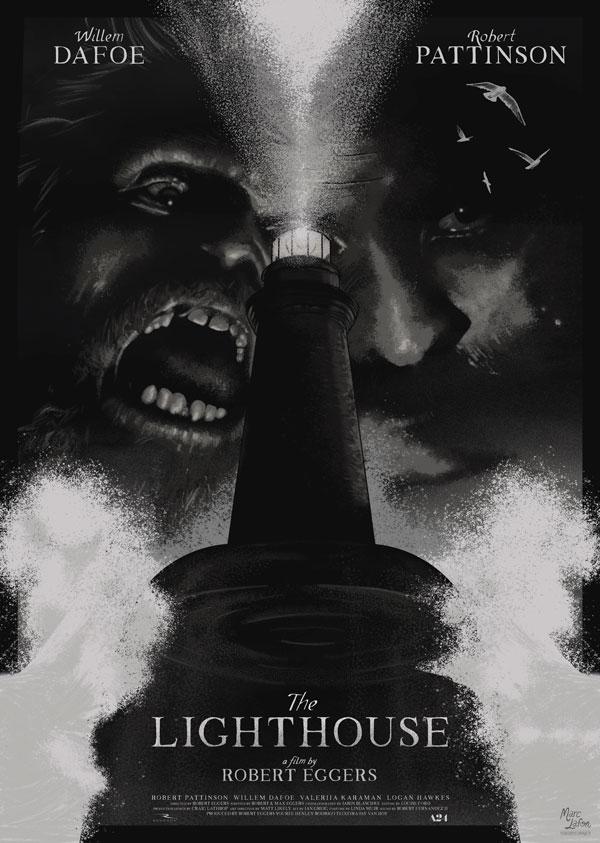 Affiche alternative pour le film The Lighthouse