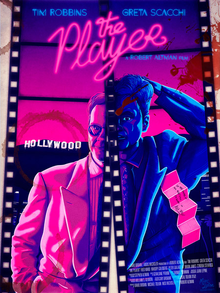 The Player fanmade poster