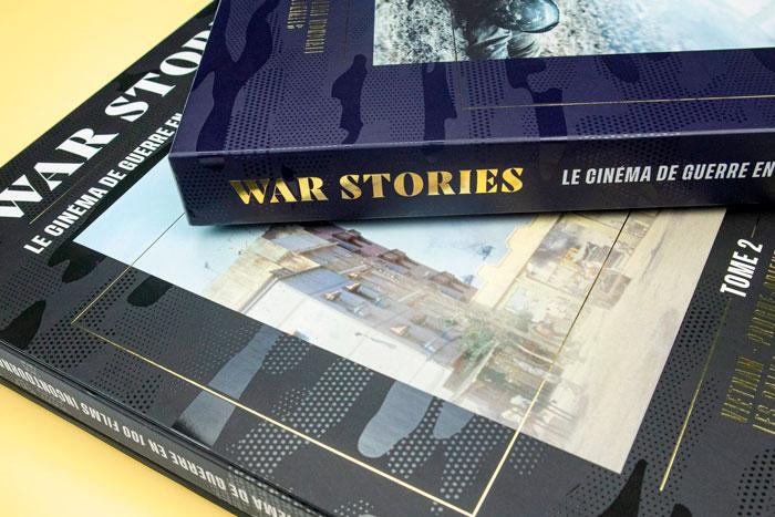 War Stories coffrets 2 livres et dvd sur les films de guerre