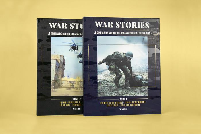 War Stories coffrets 2 livre et dvd sur les films de guerre