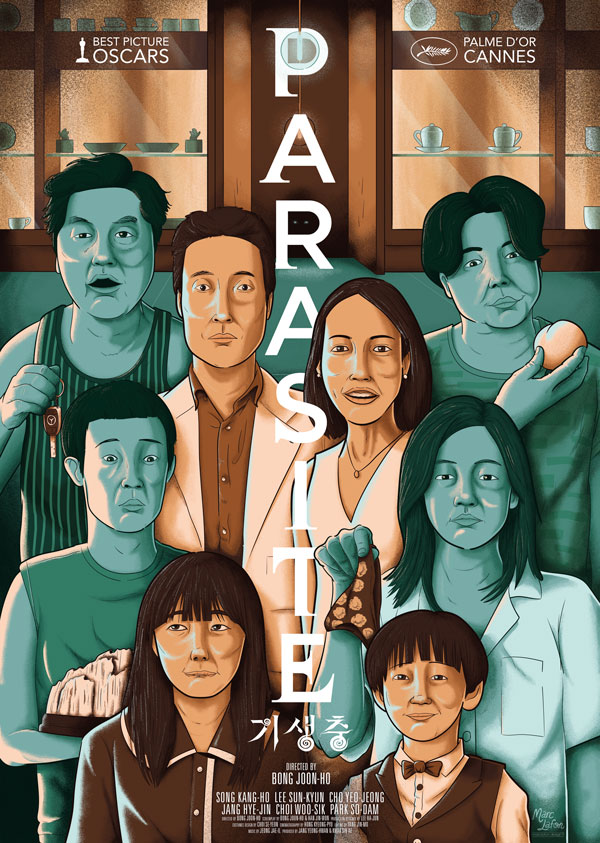 Parasite - alternative poster