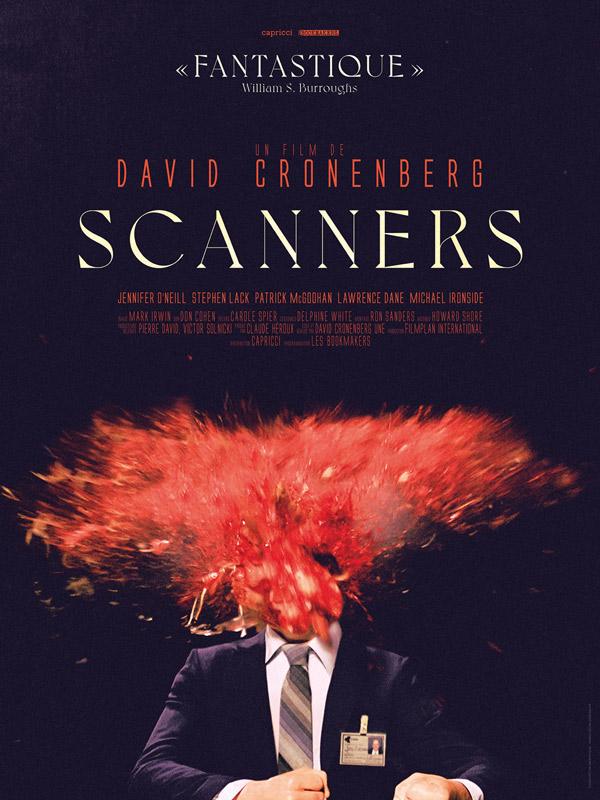 Affiche Scanners - David Cronenberg