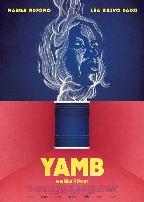Affiche pour le court métrage Yamb