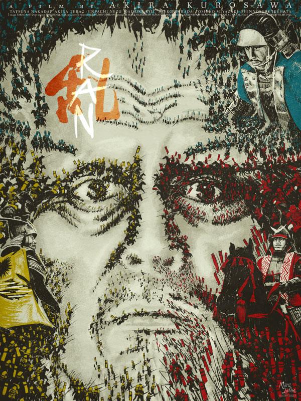 Affiche alternative de Ran de Akira Kurosawa