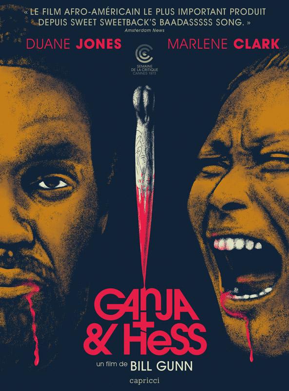 Illustration de la Jaquette DVD de Ganja & Hess